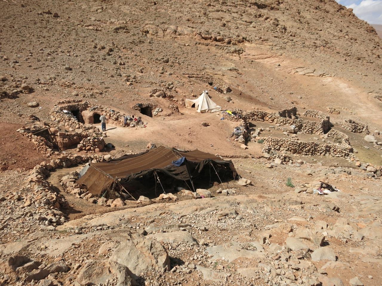 Nomaden Todra Gorges