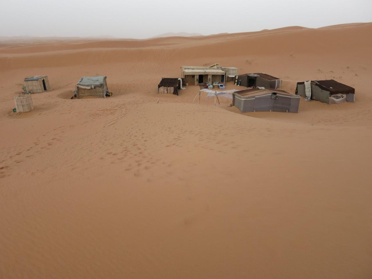 Zeltlager Sahara