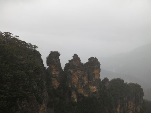 Blue Mountains: Three Sisters im Nebel