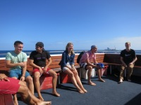 Australien: Auf dem Deck des Tauchboots