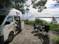 Rainbow Beach: Campingplatz