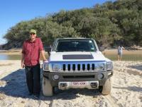 Fraser Island: Hummer