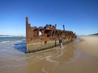 Fraser Island: Schiffswrack