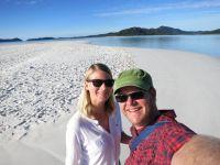 Australien: Whiteheaven Beach auf den Whitsunday Islands