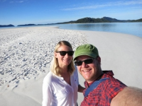 Australien: Whiteheaven Beach auf den Whitsunday Islands