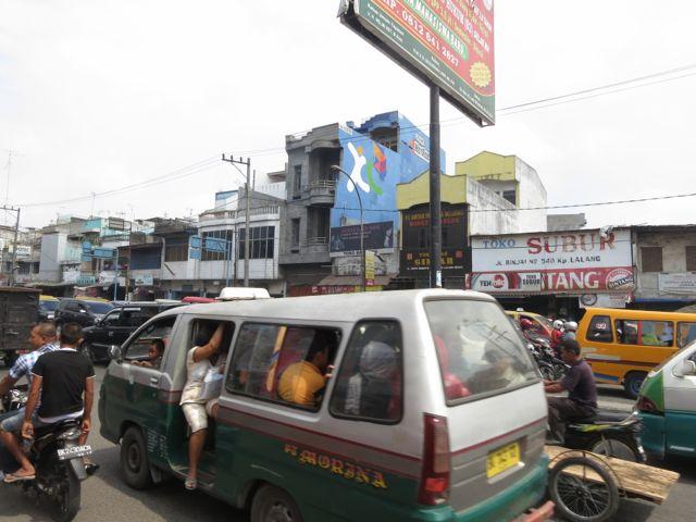 Busfahrt Medan - Bukit Lawang
