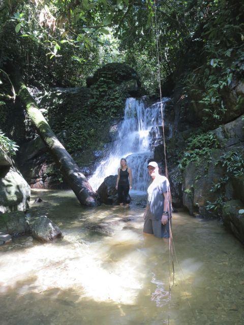 Bukit Lawang: Wasserfall