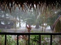 Cookinseln: Starkregen auf Aitutaki