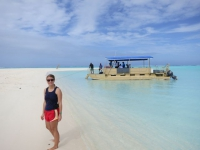 Cookinseln: Honeymoon-Island in der Lagune von Aitutaki