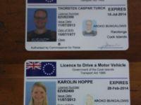 Rarotonga: Führerschein