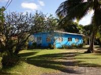 Rarotonga: typisches Inselhaus