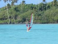 Rarotonga: Windsurfing