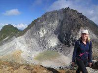 Krater auf dem Sibaya