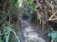 Wanderweg auf den Sibaya