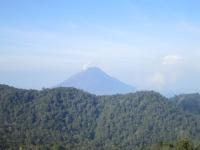 Ausblick auf den Gunung Sinabung