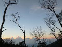Ausblick während der Wanderung auf den Kawah Ijen