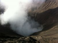 Vulkaninnere Bromo