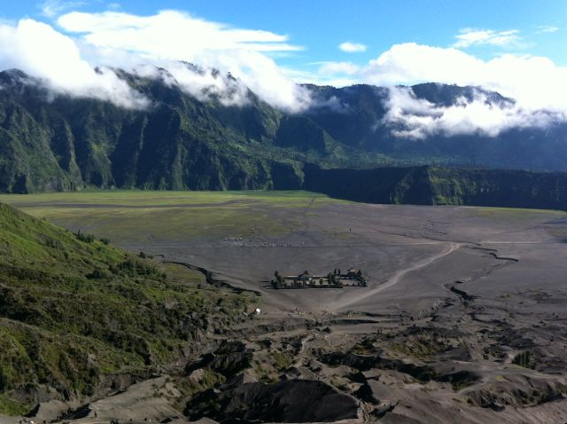 Kratertal am Bromo