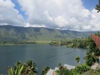 Blick auf den Toba-See von Tuk Tuk