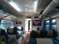 Zugfahrt Surabaya - Yogyakarta