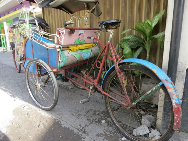 Yogyakarta - Fahrradtaxi