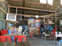 Fernsehkaffee in Chi Phat