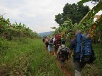 Auf dem Rückweg nach Chi Phat