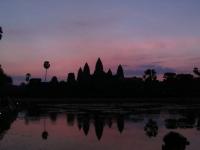 Angkor Wat bei Sonnenaufgang