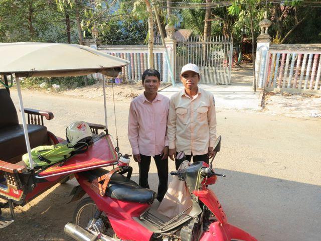 Angkor: Tourguide und Fahrer