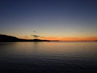 Sonnenuntergang Inside Passage