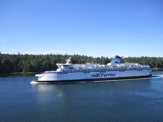 Vancouver Island: Fährfahrt