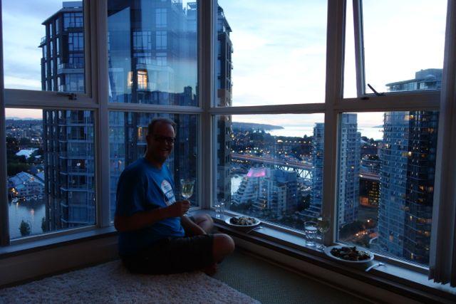 Vancouver: Aussicht aus dem 30. Stock