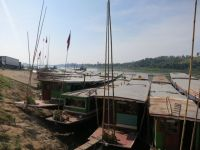 Houay Xai: Mekong Überfahrt