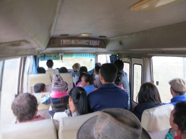 Busfahrt nach Oudomxai