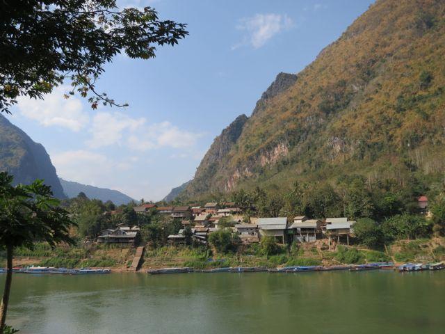 Nong Kiao: Ausblick vom Bungalow
