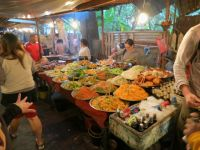 Luang Prabang: Buffetstand
