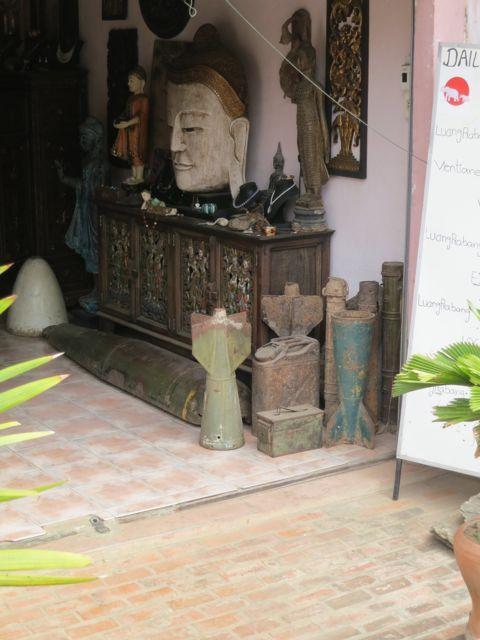 Luang Prabang: Antiquitätengeschäft