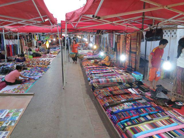 Luang Prabang: Nachtmarkt