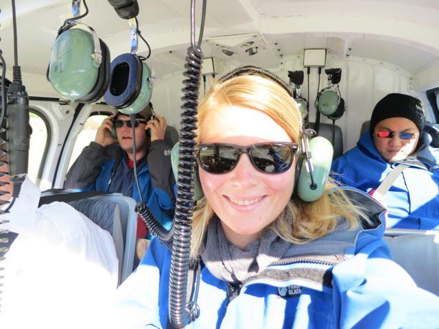 Franz Josef Glacier: Helikopter