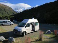 Stellplatz Mount Cook
