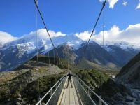 Hängebrücke Mount Cook