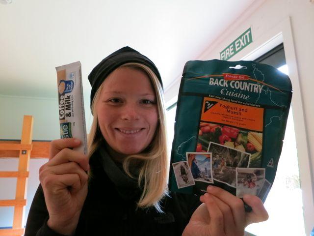 Stewart Island: Rakiura Track Frühstück