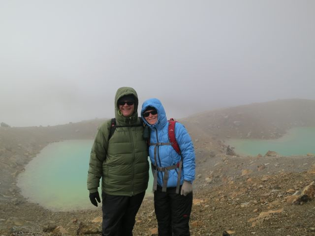 Tongariro: Emerald Lakes