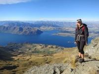 Neuseeland: Am Gipfel des Roy´s Peak