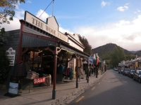 Neuseeland: Hauptstraße von Arrowtown