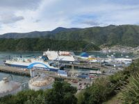 Neuseeland: Interislander-Fähre in Picton