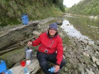 Neuseeland: Kaffeepause am Whanganui River