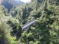 Neuseeland: Bridge to Knowhere am Whanganui River
