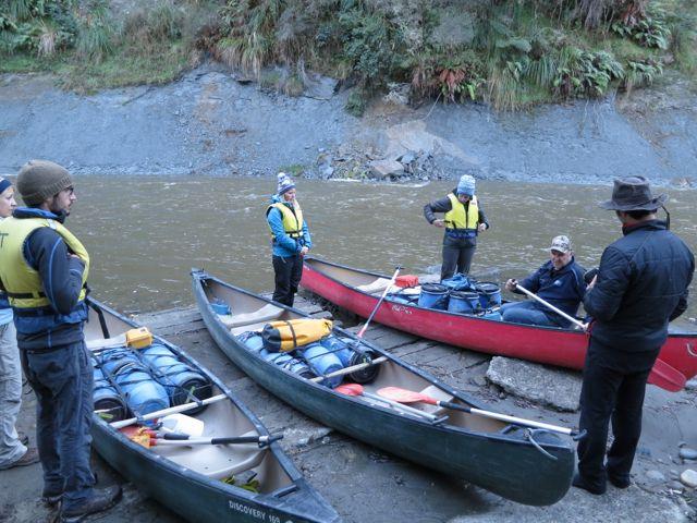 Neuseeland: Einweisung für die Tour auf dem Whanganui River