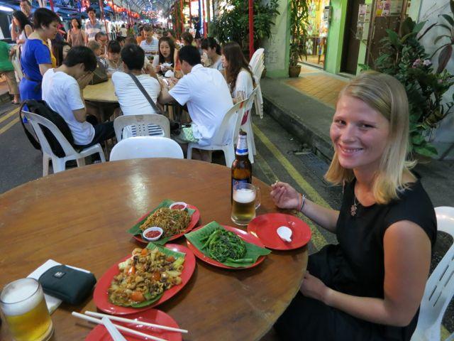 Singapur Chinatown Foodmarket